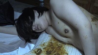 強制肛門こじ開け寝糞 麻美サンプル23