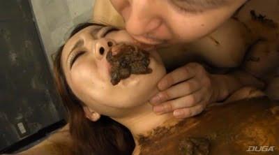 キ●ガイ美人 糞喰い女 正真正銘本物ウンコ 星川麻美サンプル5