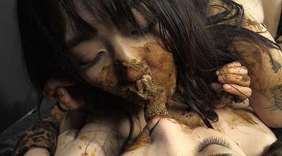 レズスカ作品の傑作シリーズ「糞接吻」【姫野未来×後藤結愛】サンプル16