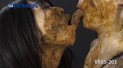 レズスカ作品の傑作シリーズ「糞接吻」【姫野未来×後藤結愛】サンプル18