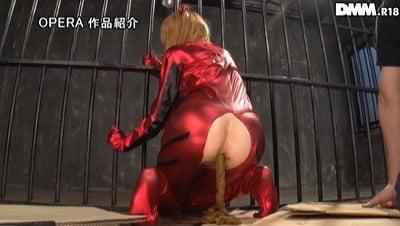 【碧木凛】初スカトロ解禁!美形コスプレイヤー監禁凌辱強制排泄サンプル6