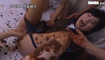【苑田あゆり】糞漏らし女子マネージャーをスカトロ調教サンプル9