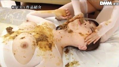 スカトロ作品にありえない美人2人の姉妹食糞レズ【男と4P有】サンプル12