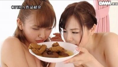 スカトロ作品にありえない美人2人の姉妹食糞レズ【男と4P有】サンプル7