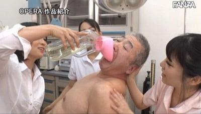 小日向まい×美らかのん+羽田希!病院でM男のスカトロプレイサンプル8