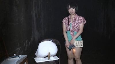 【桜夜まよい】廃墟・心霊スポットでアナル拡張・浣腸・糞散乱サンプル4