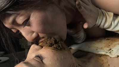 究極に汚いハードスカトロレズ【糞接吻】松沢ゆかり×後藤結愛サンプル24