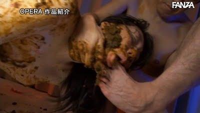 スカトロ×SM【M女】喉奥までウンコを詰め込む食糞拷問!サンプル32