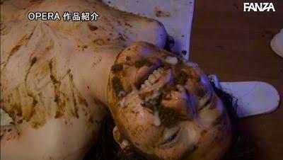 スカトロ×SM【M女】喉奥までウンコを詰め込む食糞拷問!サンプル37