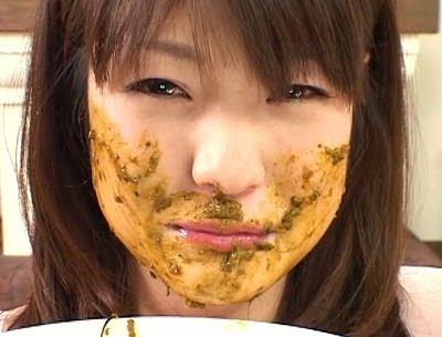 必見!スカトロで有り得ない程可愛い美少女がハードスカトロ食糞サンプル26