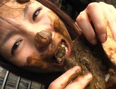 必見!スカトロで有り得ない程可愛い美少女がハードスカトロ食糞サンプル9