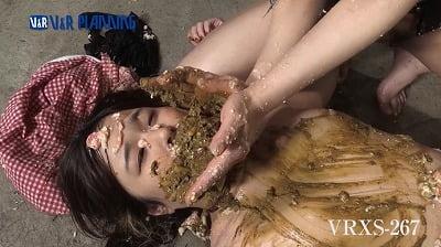 【天音うらん×及川貴和子】M女とS女レズスカうんこ顔面騎乗サンプル9