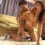 変態素人の脱糞塗糞セックス!スカトロマニアの盗撮風動画サンプル22